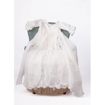 Robe de baptême et Bonnet