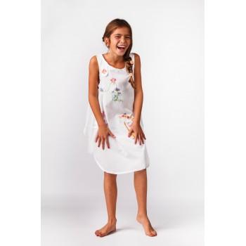 Robe Blanche 7 - 8 ans